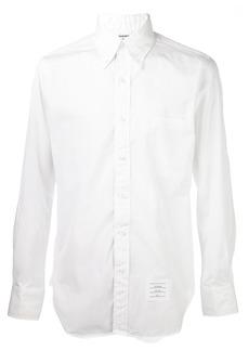 Thom Browne grosgrain placket shirt