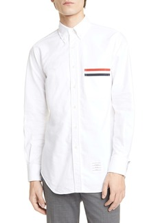 Thom Browne Extra Slim Fit Oxford Button-Down Shirt