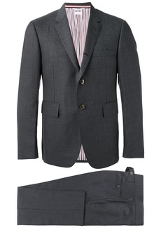 Thom Browne Classic Suit With Tie In Super 120'S Twill - Grey