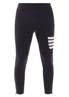 Thom Browne Four-bar stripe technical compression tights
