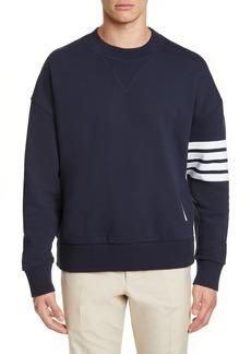 Thom Browne Four-Bar Sweatshirt