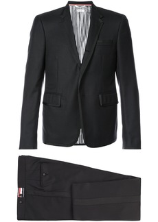 Thom Browne High Armhole Tuxedo And Low Rise Skinny Trouser With Grosgrain Tipping In Super 120's Twill
