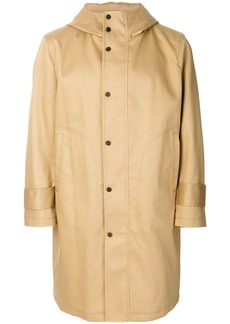 Thom Browne hooded parka - Nude & Neutrals
