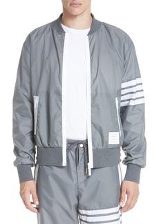 Thom Browne Lightweight Ripstop Bomber Jacket