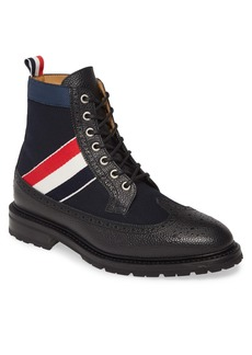 Thom Browne Long Wing Boot (Men)