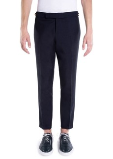 Thom Browne Low-Rise Skinny Side Wool Trousers