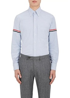 Thom Browne Men's Appliquéd Cotton Button-Down Shirt