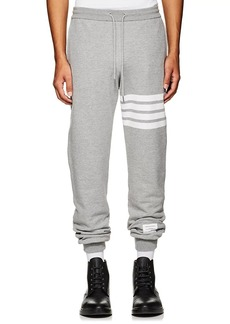 Thom Browne Men's Block-Striped Cotton Jogger Pants