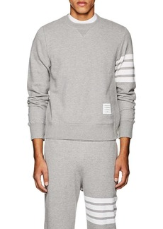 Thom Browne Men's Block-Striped Cotton Sweatshirt