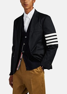 Thom Browne Men's Block-Striped Cotton Two-Button Sportcoat