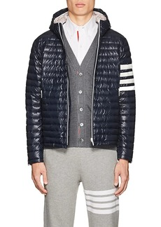 Thom Browne Men's Block-Striped Down Puffer Jacket