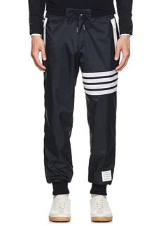 Thom Browne Men's Block-Striped Ripstop Jogger Pants