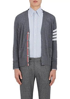 Thom Browne Men's Block-Striped Wool Cardigan