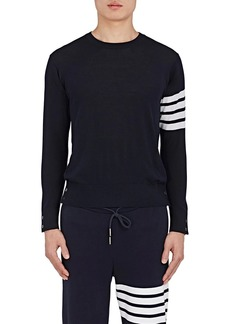 Thom Browne Men's Block-Striped Wool Sweater