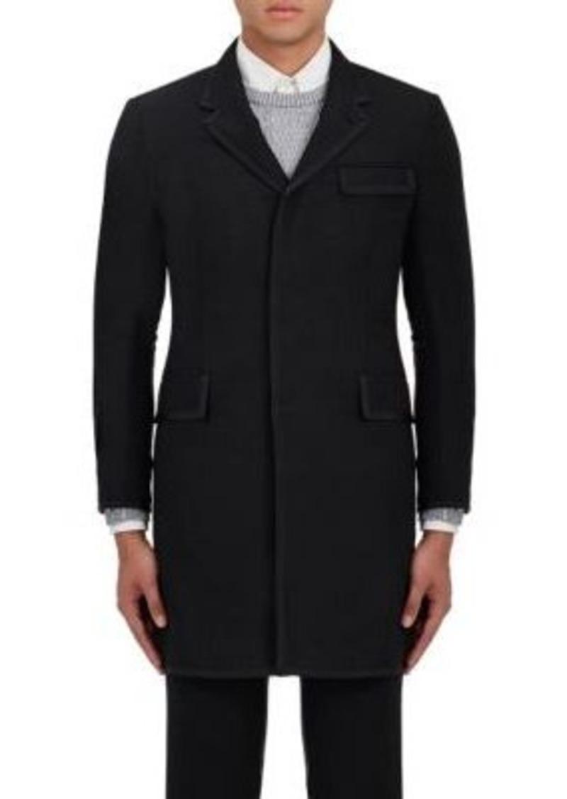 Thom Browne Men's Chesterfield Wool-Mohair Coat