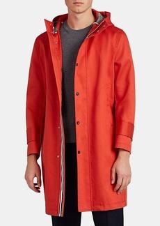 Thom Browne Men's Cotton Mackintosh Hooded Parka