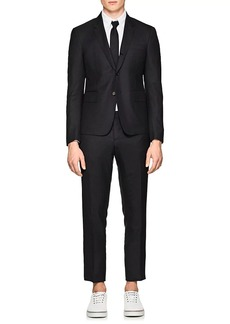 Thom Browne Men's High-Armhole Checked Wool Three-Button Suit
