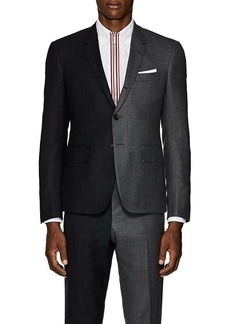 Thom Browne Men's High-Armhole Two-Tone Wool Three-Button Sportcoat