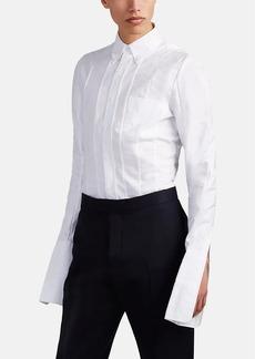 Thom Browne Men's Paneled Cotton Oxford Button-Down Shirt