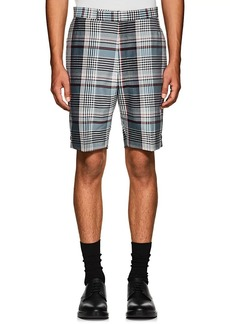 Thom Browne Men's Plaid Wool Madras Shorts