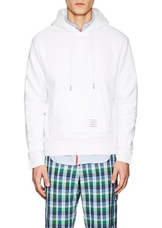 Thom Browne Men's Striped Cotton Terry Hoodie