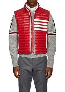 Thom Browne Men's Striped Down Puffer Vest