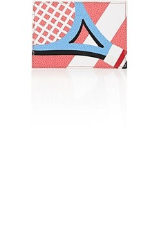 Thom Browne Men's Tennis-Racket Card Case - Pink