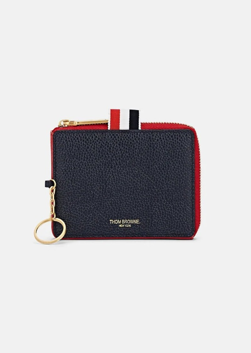 ee141e51b77 Thom Browne Thom Browne Men's Triangle Leather Coin Case | Misc ...