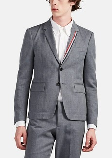 Thom Browne Men's Wool-Blend Unstructured Three-Button Sportcoat