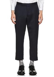 Thom Browne Men's Wool Slim Crop Trousers