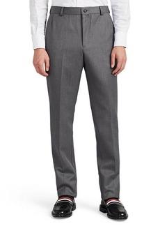 Thom Browne Men's Wool Twill Trousers