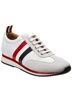 Thom Browne New York Suede & Mesh Sneaker