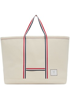 Thom Browne Off-White Oversized Tool Tote