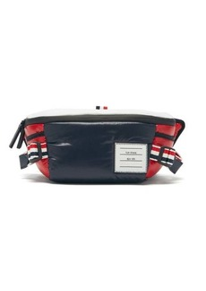 Thom Browne Padded technical-shell belt bag