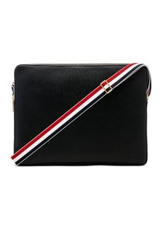 Thom Browne Pebble Grain Messenger Bag