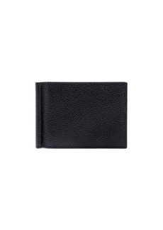 Thom Browne Pebble Grain Money Clip Wallet