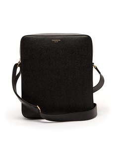 Thom Browne Pebbled-leather cross-body bag