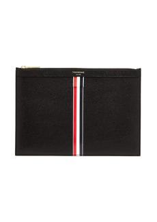 Thom Browne Pebbled-leather tablet holder