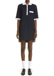 Thom Browne Polo Minidress