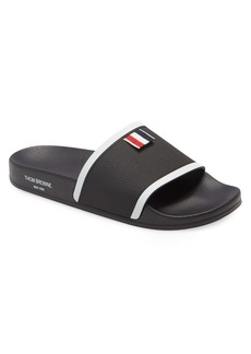 Thom Browne Pool Slide Sandal (Men)