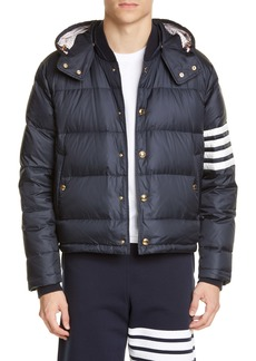 Thom Browne Quilted Down Bomber Jacket
