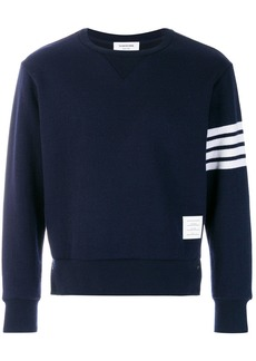 Thom Browne 4-Bar Cashmere Shell Sweatshirt
