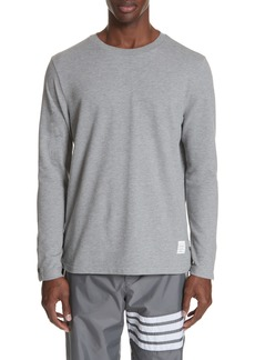 Thom Browne Relaxed Fit Long Sleeve T-Shirt