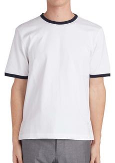 Thom Browne Ringer Wool T-Shirt