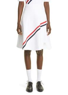 Thom Browne RWB Diagonal Stripe Skirt