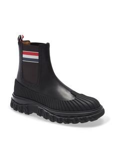 Thom Browne RWB Stripe Chelsea Duck Boot (Men)