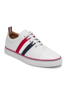 Thom Browne Side Stripe Low-Top Sneakers