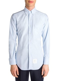 Thom Browne Solid Button-Down Shirt