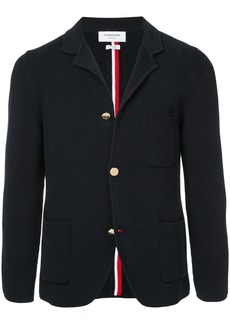 Thom Browne Rwb Intarsia Milano Stitch Sport Coat