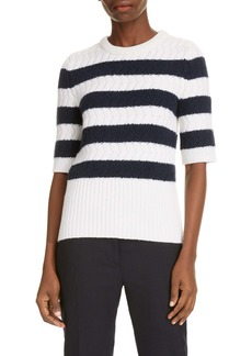 Thom Browne Stripe Cashmere Sweater